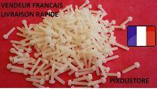 Lot de 10 vis nylon à tête cruciforme M3 X 10 mm neuves. 5-42