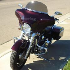 "ABS 8"" Brown Windscreen Windsheild For Harley FLHT FLHTC FLHX Touring 1996-Later"