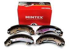 MINTEX REAR BRAKE SHOES SET CITROEN DALLAS PEUGEOT MFR278 (REAL IMAGE OF PART)