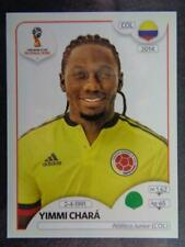 Panini FIFA 2018 World Cup Russia PINK back sticker #638 Yimmi Chará Colombia
