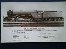 POSTCARD GREAT NORTHERN RLY 4-6-2 LOCO NO 1470