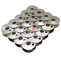 #203470 STEEL BOBBINS FIT FOR CONSEW 225 226RB 227 SINGER 111W 212W JUKI LU-562 100 PCS CKPSMS brand