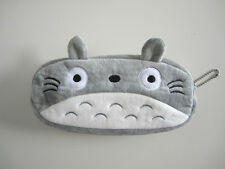 Cute Totoro Pencil Case Plush Pen Small Bag Studio Ghibli Makeup Pouch