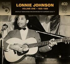 Lonnie Johnson VOLUME ONE • 1925-1929 Remastered 100 SONGS New Sealed 4 CD
