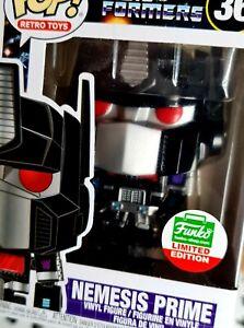 Funko Pop Transformers 36 Nemesis Prime Retro Toys Movies Animation Vinyl Figure