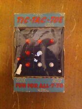 vintage Harmonic Reed Corp. handheld travel tic-tac-toe game new Original Box