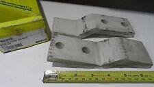 "5) Erico Cadweld NEMA Offset Lug Tin Plated Copper 2 Hole 2""W x 6-1/2""L B102JHOL"