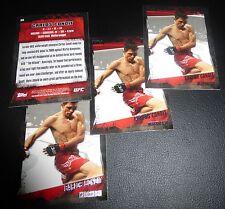 Carlos Condit 2010 Topps UFC Card #38 115 120 132 143 154 158 Fight Night WEC 26