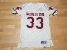 Authentic WSU COUGARS Washington State Football Game Worn Jersey free shipping