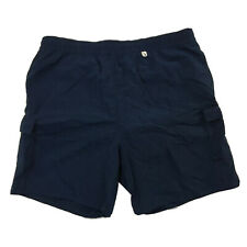 LORO PIANA made in ITALY Navy Blue MENS XL Lined Bathing Suit Swim Trunks