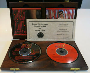 Bruce Springsteen CD Box Set – Human Touch + 1 Limited Numbered Certificate RARE