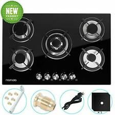 """Gas Cooktop 30"""" inches Gas Cooktop Tempered Glass Built in Gas Stove 5 Burner."""