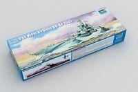 Trumpeter 05772 1/700 USS West Virginia BB-48 1945