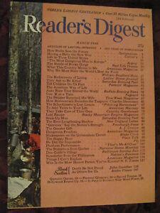 Reader's Digest March 1949 Margaret Webster Dorothy Sparks Rocky Gorge A J Croni