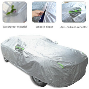 For Dodge Charger 2015+ Full Car Cover UV Dust Resistant All Weather Protection