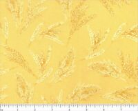 Giving Thanks Yellow Robert Kaufman Prints 100% Quilting Cotton Fabric 18400