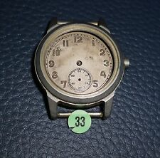 33)⌚ BULOVA 40er Vintage Military Watch WW II WK 2 US Army Parts Case Mouvement