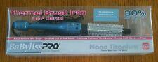 "New BABYLISS PRO Nano Titanium Thermal Brush BABNT75HC Iron 3/4"" Open Box"