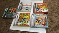 5 game boy advance complete lot gba