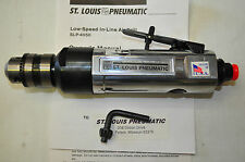 """ST LOUIS SLP-4050  3/8"""" Low-Speed Heavy Duty In-Line Drill Made in USA"""