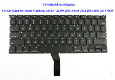 """US Keyboard for Apple MacBook Air 13"""" A1369 2011 A1466 2012 2013 2014 2015 NEW"""
