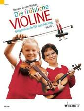 Die fröhliche Violine Band 1,  Bruce-Weber,  NEUWERTIG !