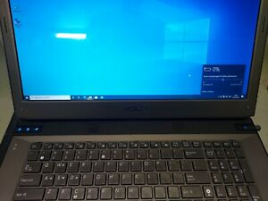 ASUS G73JW 205 Gaming Laptop Core i7-Q740 20GB RAM 128GB SSD 1TB HDD