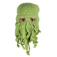 CAPPELLO CTHULHU MOLDEN LOVECRAFT CAP HAT COSPLAY WOOL PELUCHE PLUSH FANTASY #1