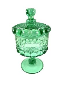 Vintage LG Wright Lidded Compote Candy Dish