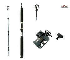 9' Okuma Medium Heavy Fishing Rod Reel Combo 2 Pc ~ New