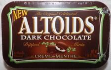 ALTOIDS Creme de Menthe Dark Chocolate Dipped Mints 1 Sealed Tin - Discontinued