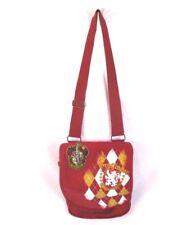 Harry Potter Gryffindor Hogwarts Messenger Bag Red Canvas Wizarding World BP8