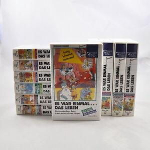 11 x VHS: Es war einmal das Leben (Sammlung / Paket / Konvolut) Video Kassetten