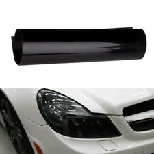 30*60cm Black Smoke Tint Vinyl Film Overlay Wrap for Headlight Tail Light Decor