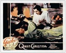 Queen Christina Lobby Card Greta Garbo John Gilbert On 1933 OLD MOVIE PHOTO