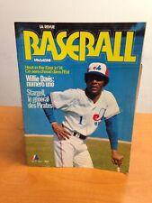 1974 MONTREAL EXPOS Baseball Magazine Willie Davis Cover Stargell Article.