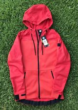 Under Armour Swacket Jacket Size SMALL Mens Hoodie Red ColdGear Waterproof $140