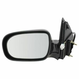 LH Left Drive Mirror Power/Heated Smooth Black fits 1999 2005 Chevrolet Venture