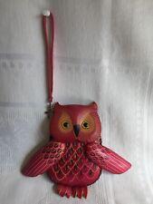 Unique Leather Indian Purse - Owl Design