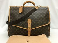 Auth Louis Vuitton Monogram SAC CHASSE 2WAY Travel Hand Bag 0C120090n""