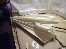 Vintage Saks Fifth Avenue Parasol Umbrella W/ Glass Handle