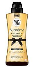 Vernel Supreme Glamour Weichspüler Edle französische Parfüms 6 x 600ml
