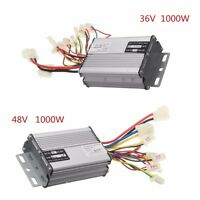 36V/48V 1000W Electric Bicycle Brush Speed Motor Controller For E-bike & Scooter