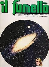 IL FUMETTO rivista ANAF N.6 /1979 il mistero degli esagoni connie salgari franca
