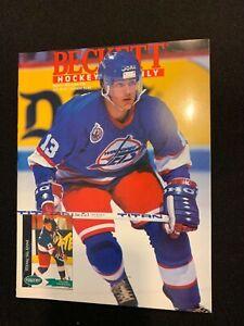 Beckett Hockey Guide Teemu Selanne Cover March 1993 Issue #29 -