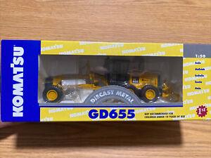 1st First Gear Komatsu GD655 Motor Grader 1/50