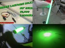 12V Maxx Led Green Underwater Waterproof Submersible Night Fishing Light