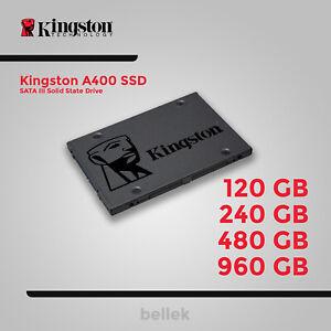 """Kingston A400 SSD 2.5"""" 120GB 240GB 480GB 960GB SATA III Solid State Drive"""