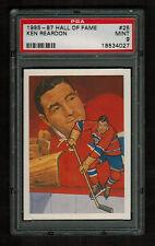 PSA 9 KEN REARDON 1985 Hockey Hall Of Fame Card #25