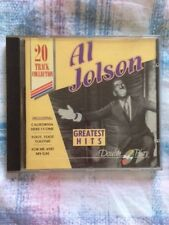 Al Jolson - Greatest Hits CD - 20 of his greatest hits